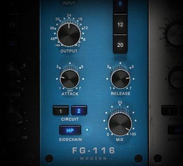 Slate Digital FG-116 Blue Series - FET Compressors | Sweetwater