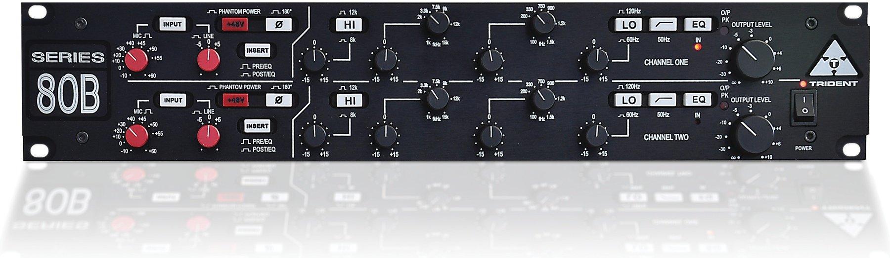 Trident Audio Developments Series 80b Sweetwater Snapshoot Of Studio Stereo Headphone Amplifier Circuit Image 1