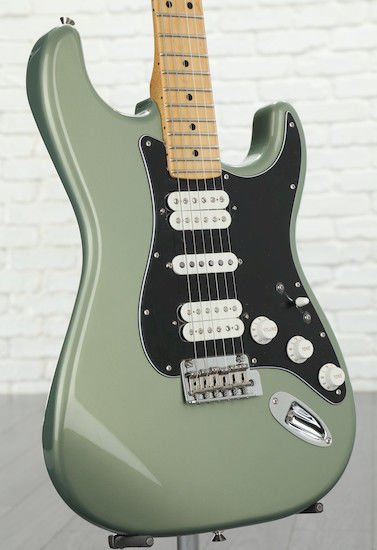 Fender Player Series Stratocaster HSH - Sage Green Metallic w/ Maple