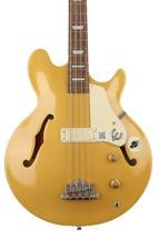 Epiphone Jack Casady Artist Series Signature Bass - Metallic Gold