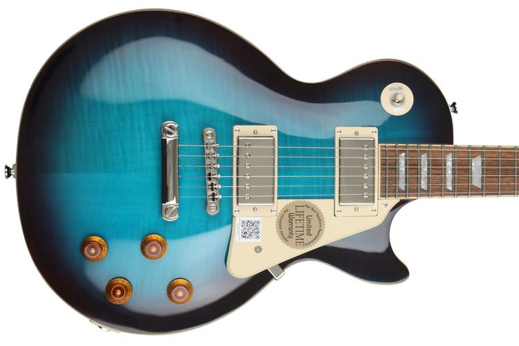 Epiphone Les Paul Standard Plustop Pro - Blueberry | Sweetwater