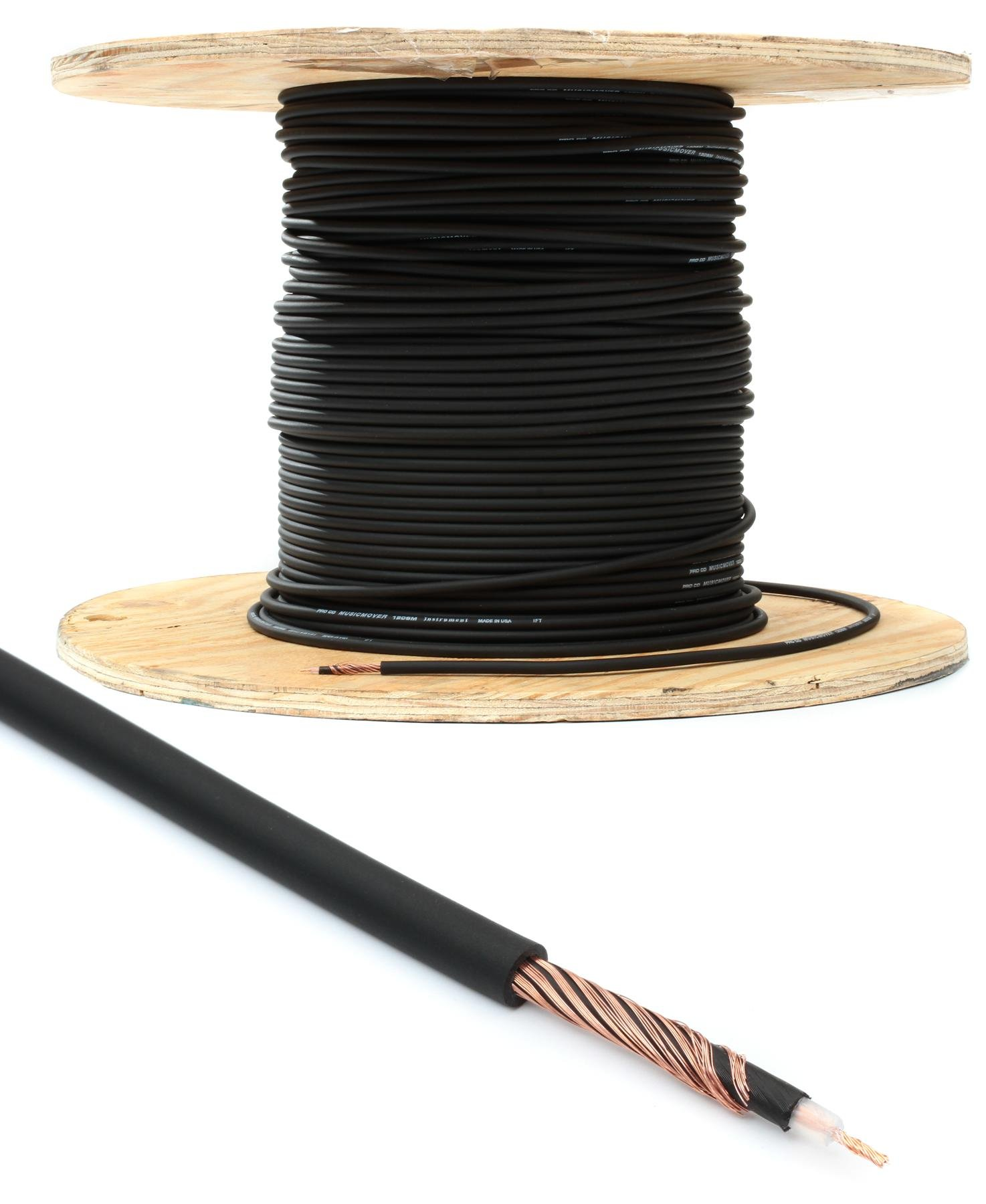 Pro Co 120SM Bulk Instrument Wire (priced per foot) | Sweetwater