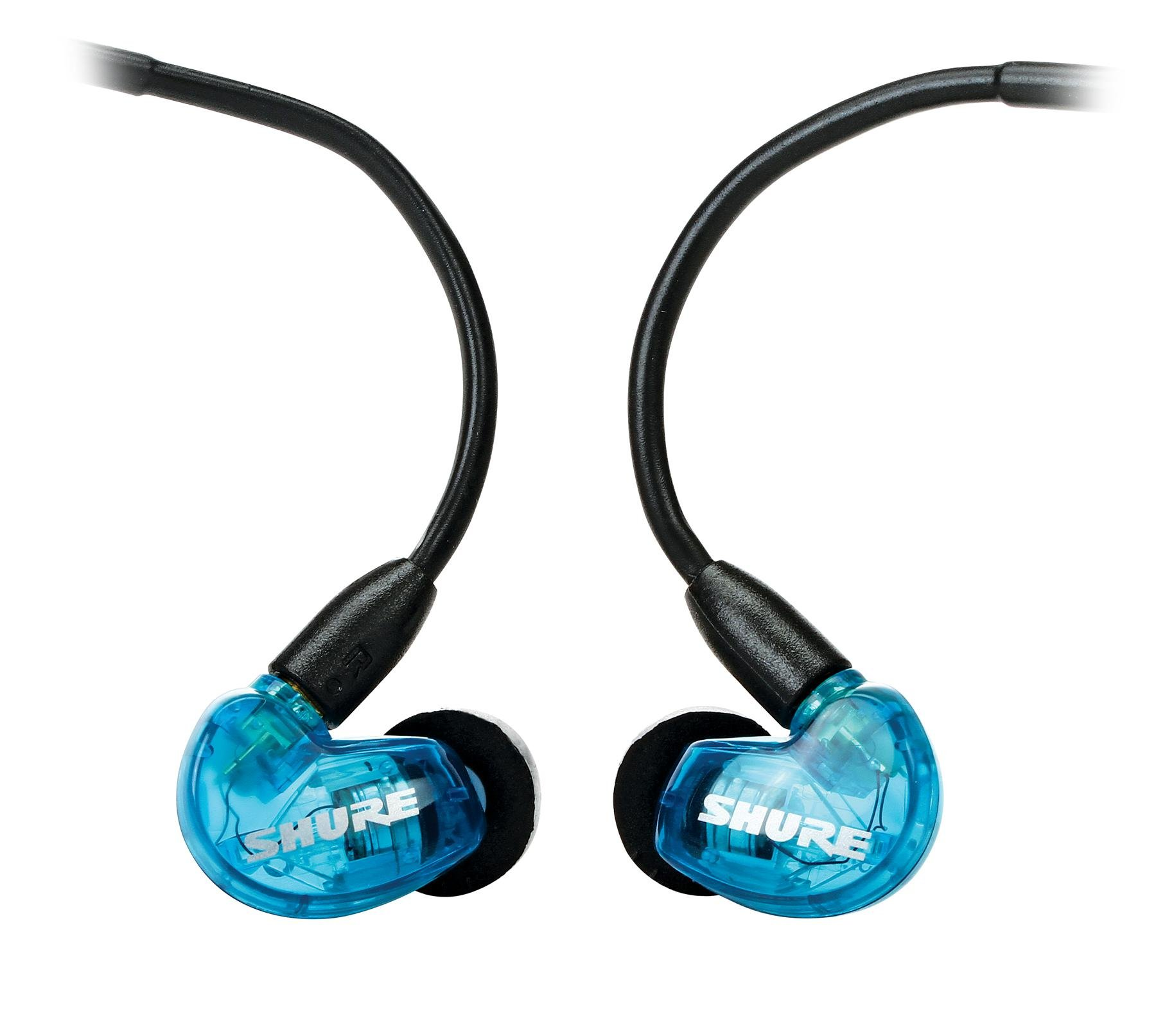 Shure Se215 Sound Isolating Earphones Blue Sweetwater