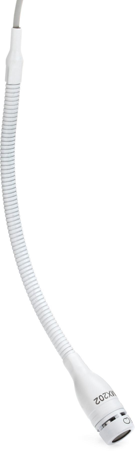 Cardioid Shure MX202W-A//C White Overhead Microphone