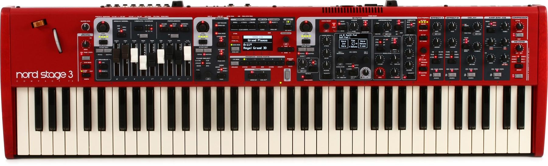 Nord Stage 3 Compact Stage Keyboard | Sweetwater