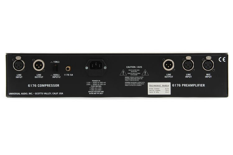 Universal Audio 6176 Channel Strip Features: