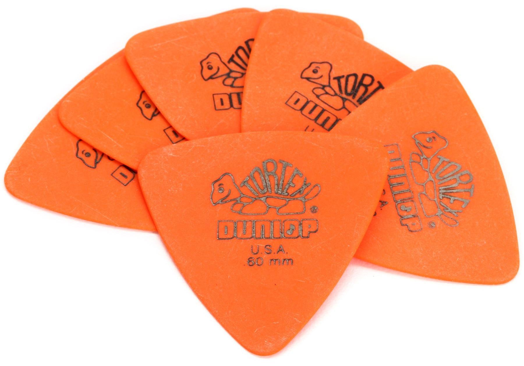 12 x Dunlop Tortex Triangle Picks 431R.73mm YELLOW