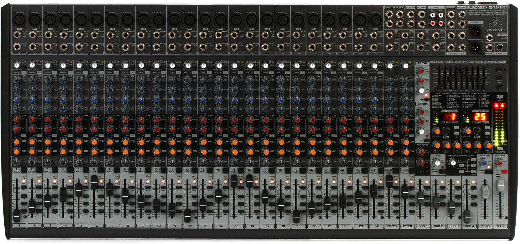 Behringer Eurodesk Sx3242fx Mixer With Effects Sweetwater Radikalsac2kusbcablewiringdiagramnormalusbcable Image 1