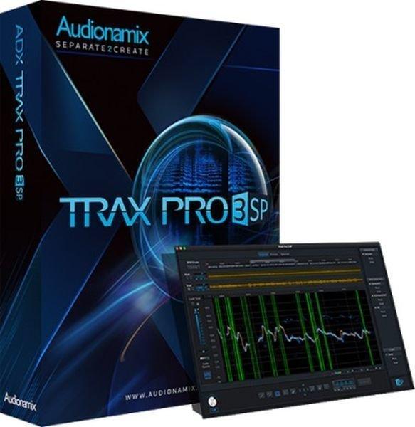 Audionamix TRAX Pro 3 SP Speech Separation Software | Sweetwater