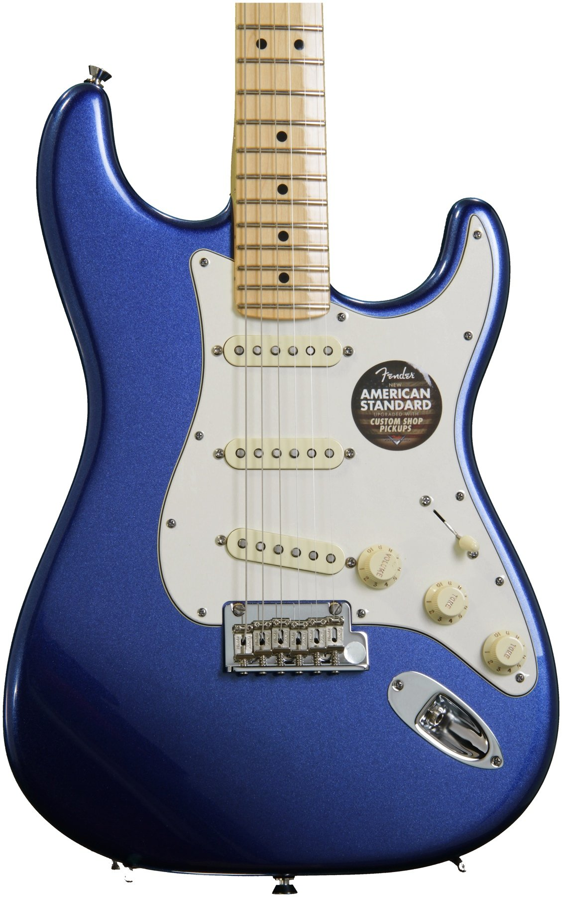 Fender American Standard Stratocaster - Mystic Blue with Maple ...