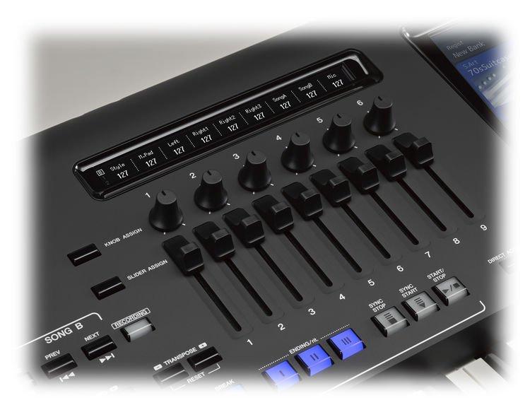 Yamaha Genos 76-key Arranger Workstation   Sweetwater