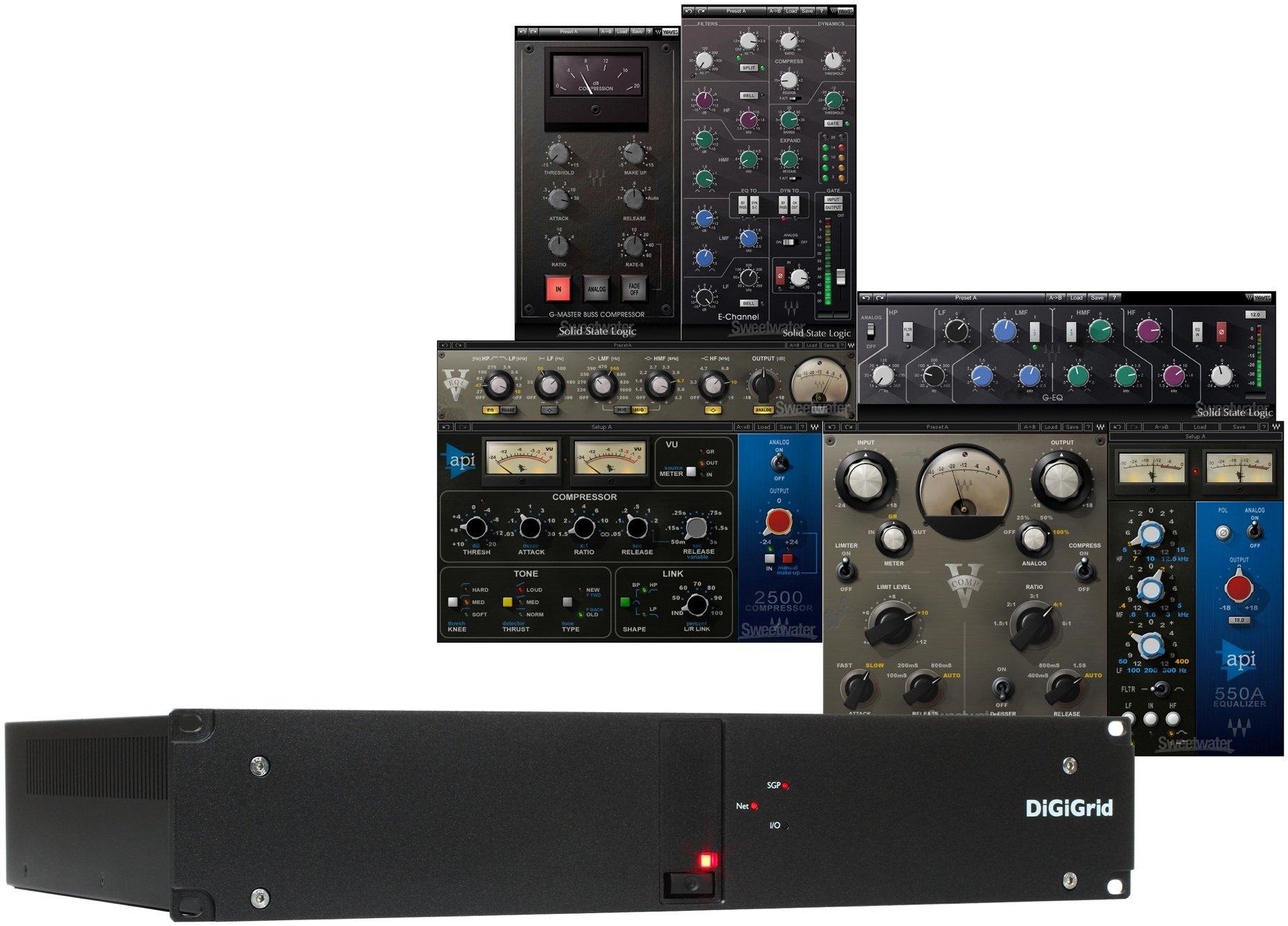 DiGiGrid DLS/Waves Studio Classics Collection SoundGrid