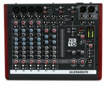 Allen & Heath ZED-10 Mixer with USB