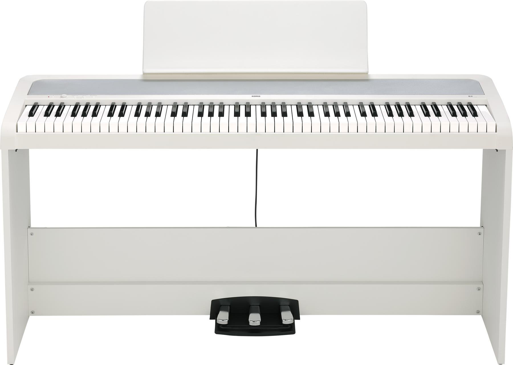 Korg B2SP Digital Piano Package - White | Sweetwater