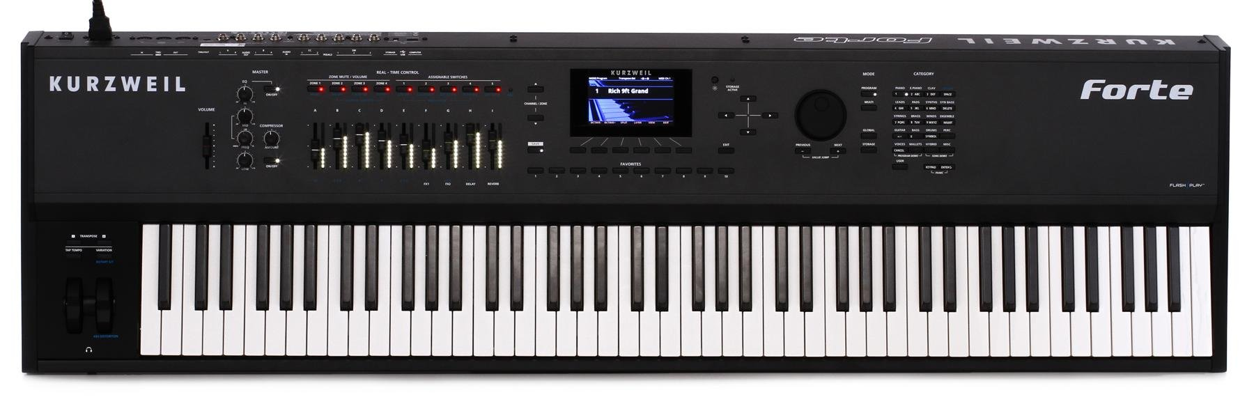 Digital Piano Shootout - with Sound Samples! | Sweetwater