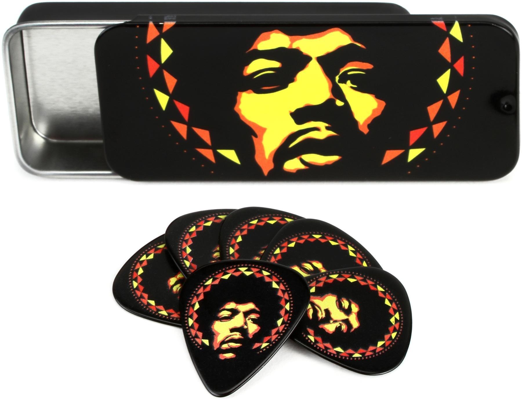 Dunlop Gitarrengurt Jimi Hendrix Offiziell Lizenziert Mandala