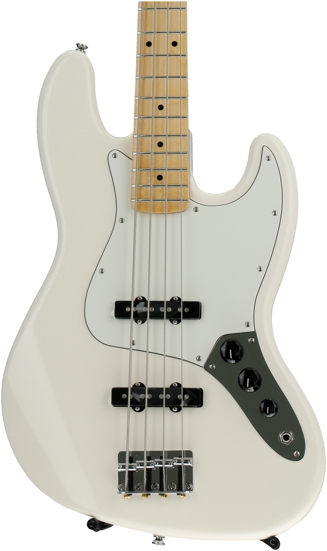 Fender Standard Jazz Bass Arctic White With Maple Fingerboard Wiring Diagram Image 1