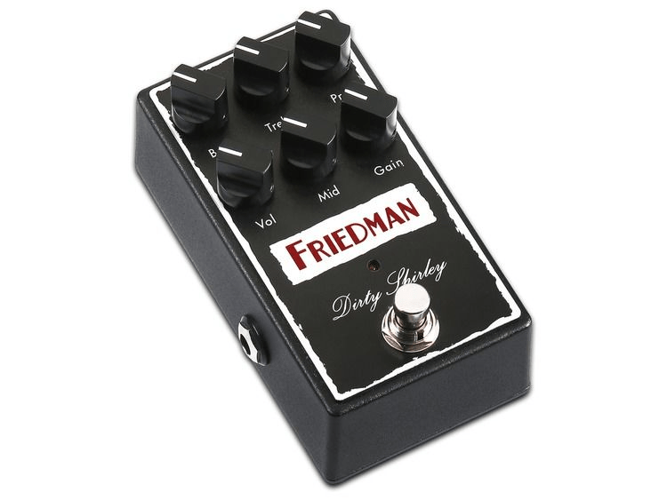friedman dirty shirley overdrive pedal sweetwater. Black Bedroom Furniture Sets. Home Design Ideas