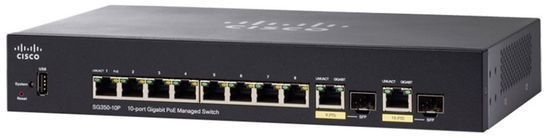 Cisco Sg350 10p 10 Port Gigabit Ethernet Switch W Poe