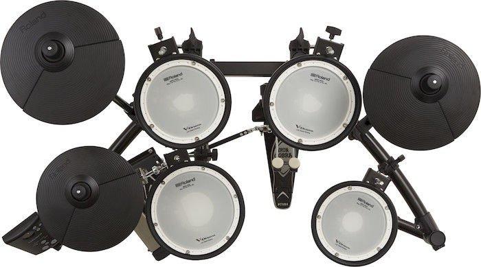 roland v drums td 1dmk electronic drum set sweetwater. Black Bedroom Furniture Sets. Home Design Ideas