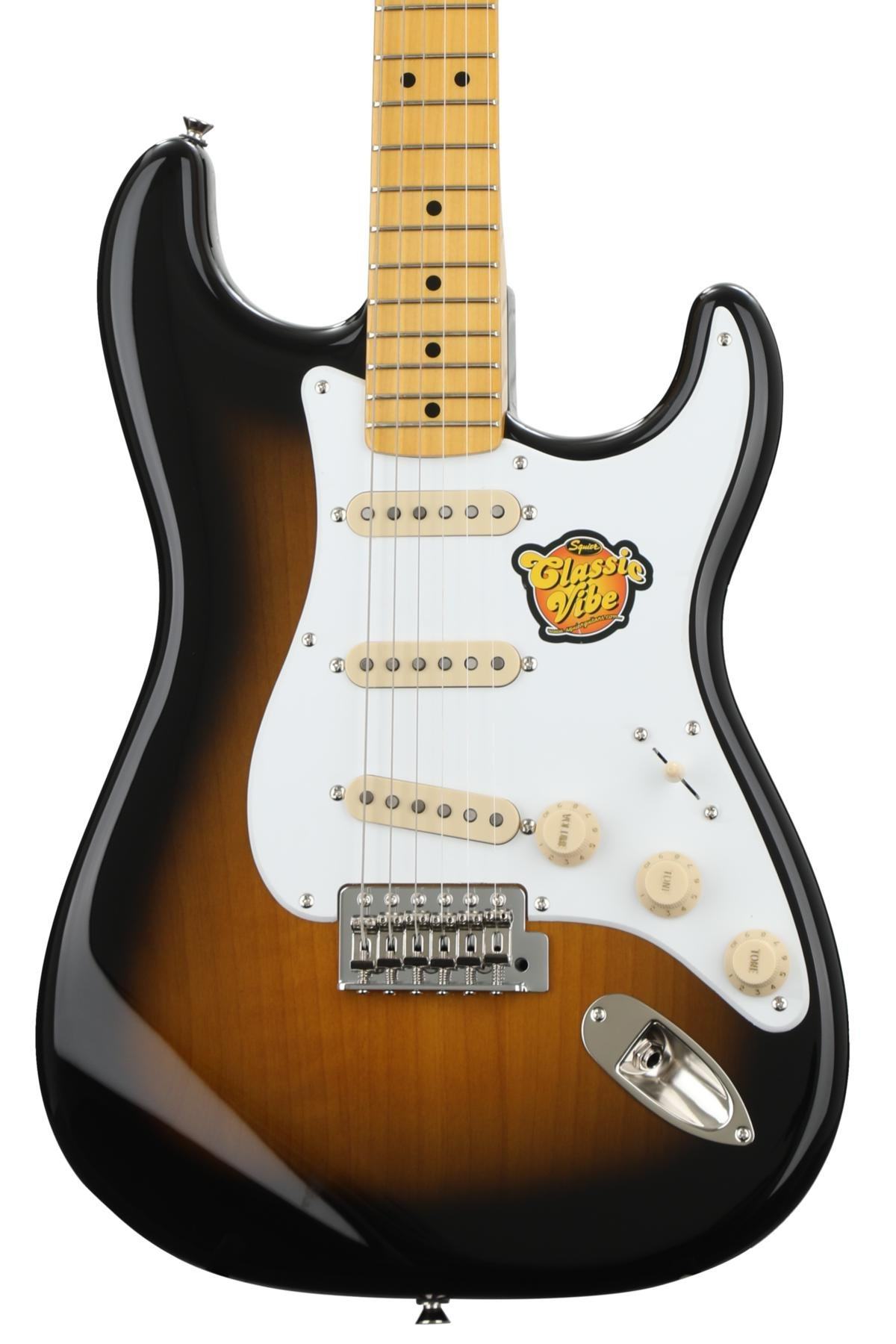 Squier Classic Vibe Stratocaster \'50s - 2-tone Sunburst   Sweetwater