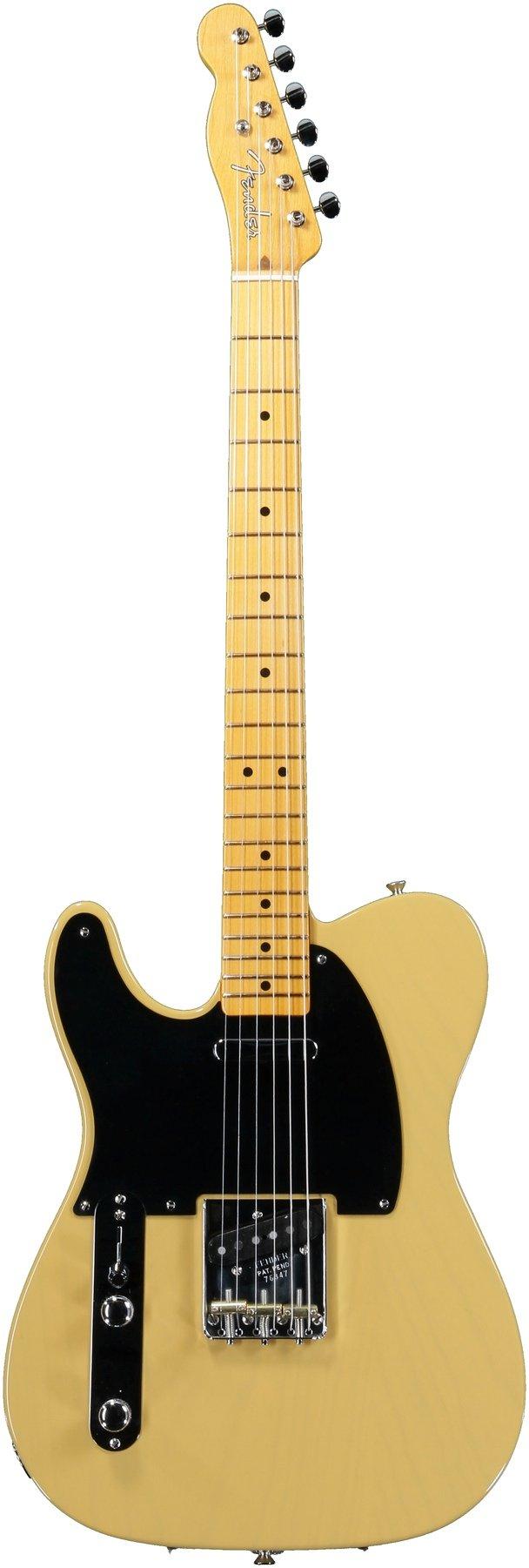 Fender American Vintage 52 Telecaster Left Handed Butterscotch Reissue Wiring Diagram Blonde Image 1