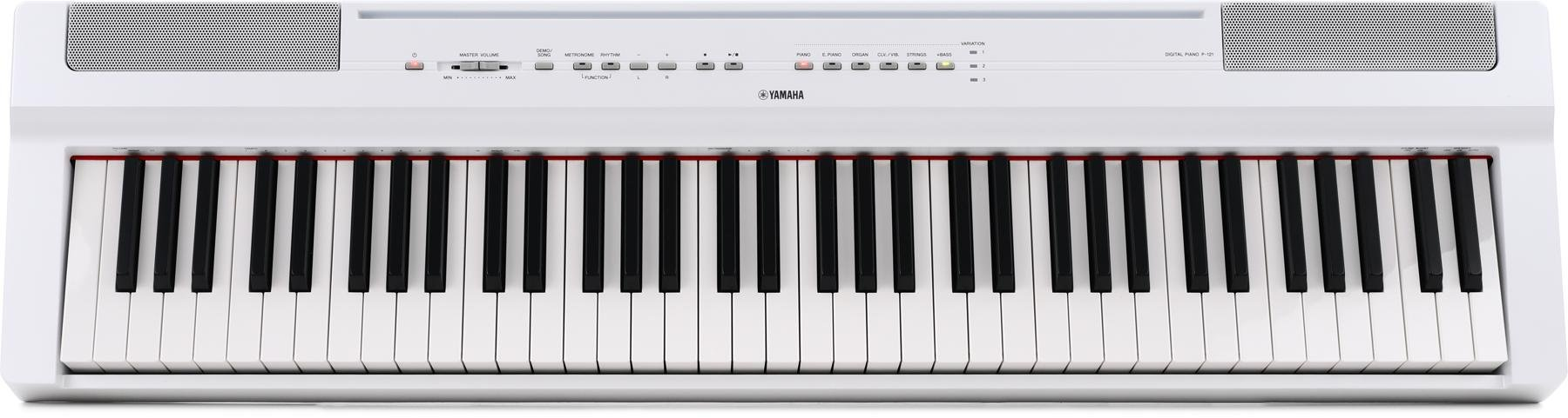 Yamaha P 121 Digital Piano White Sweetwater Theremin World Topic A Project From Glaacuk Image 1