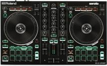 Roland DJ-202 2-channel Serato DJ Intro Controller with Drum Machine