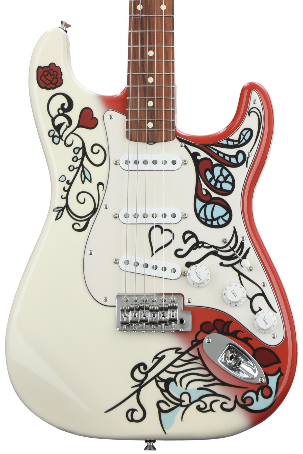 Fender Jimi Hendrix Monterey Stratocaster Sweetwater Electric Guitars Telecaster Pick Guard Ok I Can Get A Diagram Out To Image 1