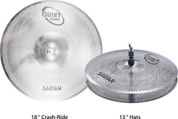 sabian quiet tone practice cymbals box set 13 hi hats 18 crash ride sweetwater. Black Bedroom Furniture Sets. Home Design Ideas