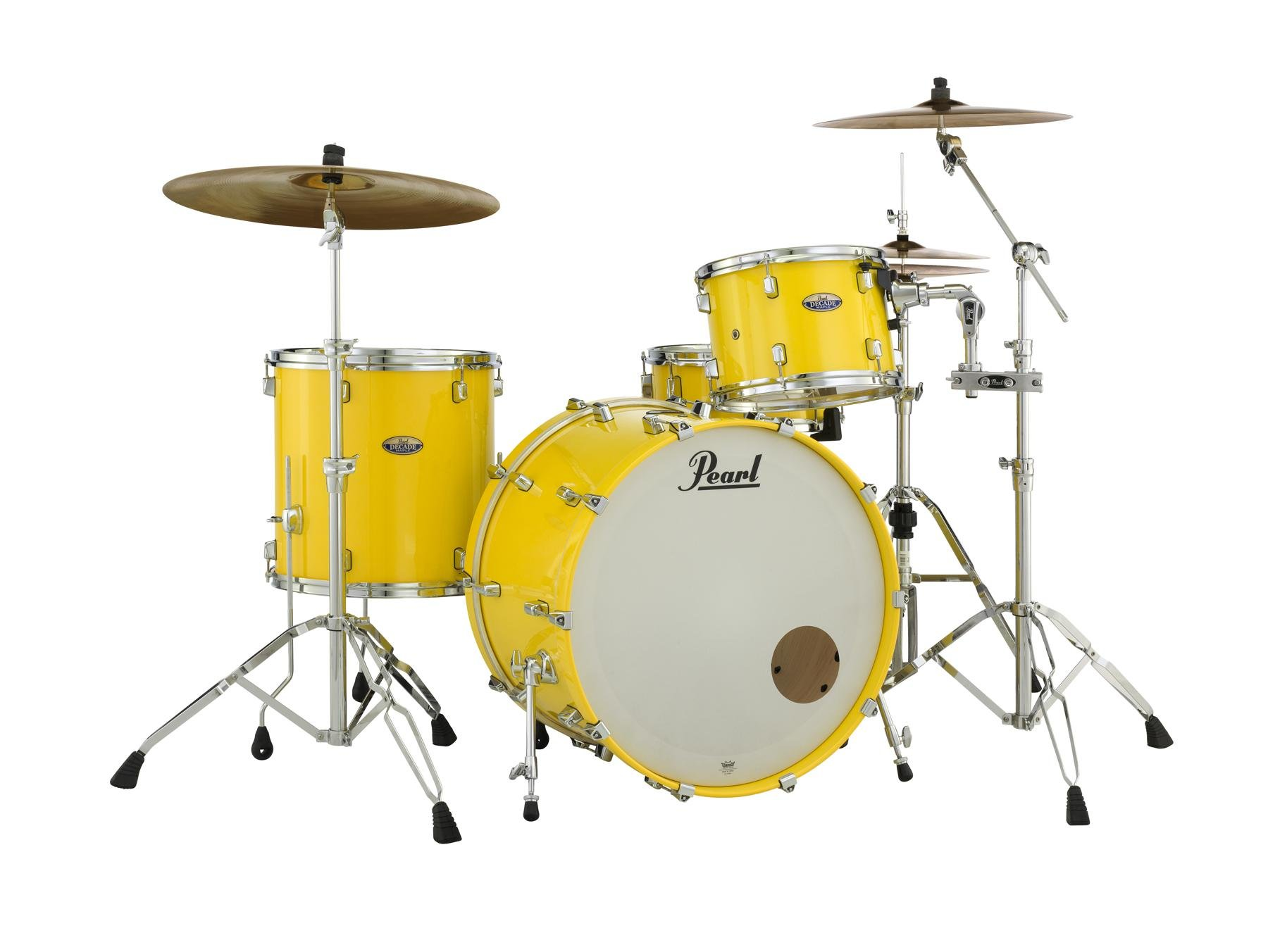 Pearl Decade Maple Shell Pack 3pc Solid Yellow Sweetwater