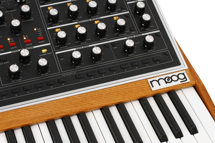 Moog One 8-voice Analog Synthesizer | Sweetwater