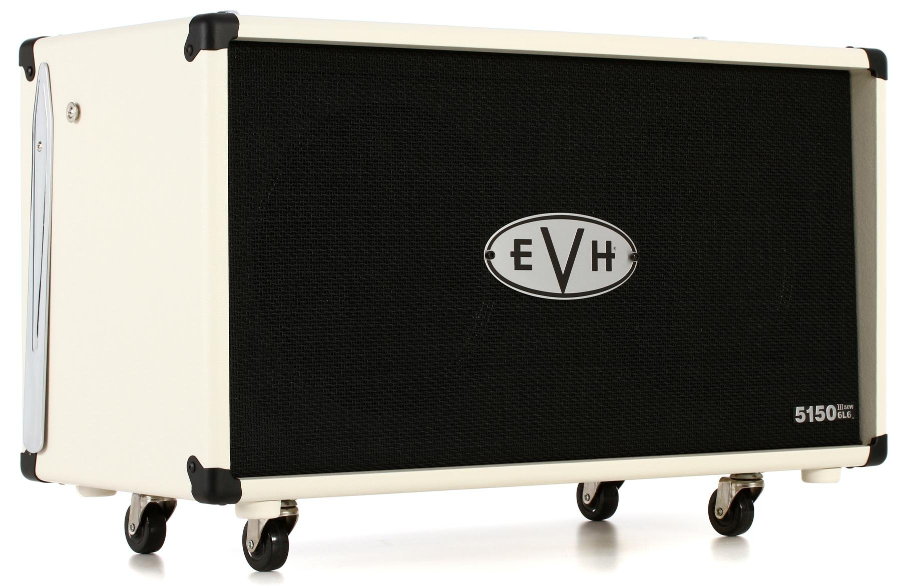 Evh 5150 Iii 2x12 60 Watt Extension Cabinet Ivory Sweetwater Htv 212 Further Parallel Speaker Wiring Guide On 8 Ohm