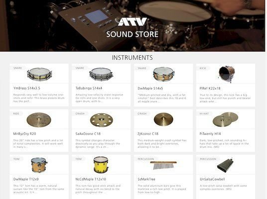 ATV aDrums Artist Standard Set Electronic Drum Set | Sweetwater