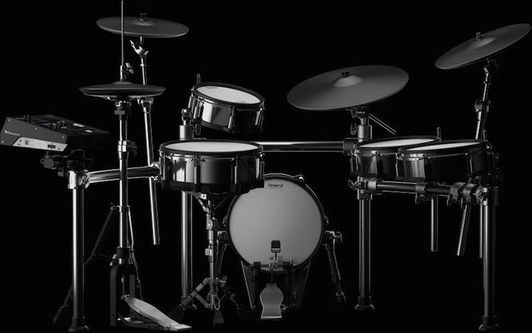 Roland V-Drums TD-50KV 5-piece Electronic Drum Set   Sweetwater