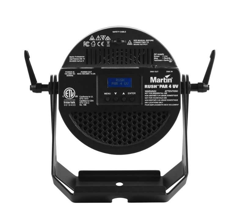 Martin Lighting Thrill Compact Par 64 LED RGBWA+UV Par