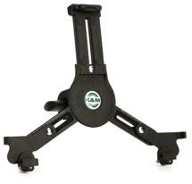 K&M 19790 Tablet PC Holder Mic Stand Thread Mount