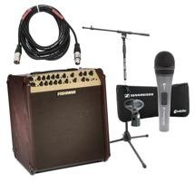 Fishman Loudbox Performer Songwriter Package with Mic, Stand, Cable