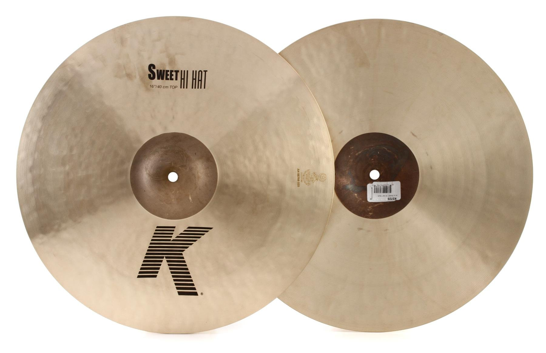 Zildjian 16 K Sweet Hi Hat Bottom Cymbal
