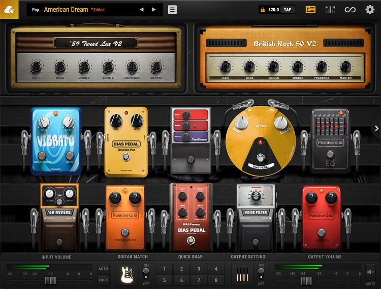 positive grid bias fx 2 pro effects modeling plug in upgrade from bias amp 2 pro sweetwater. Black Bedroom Furniture Sets. Home Design Ideas