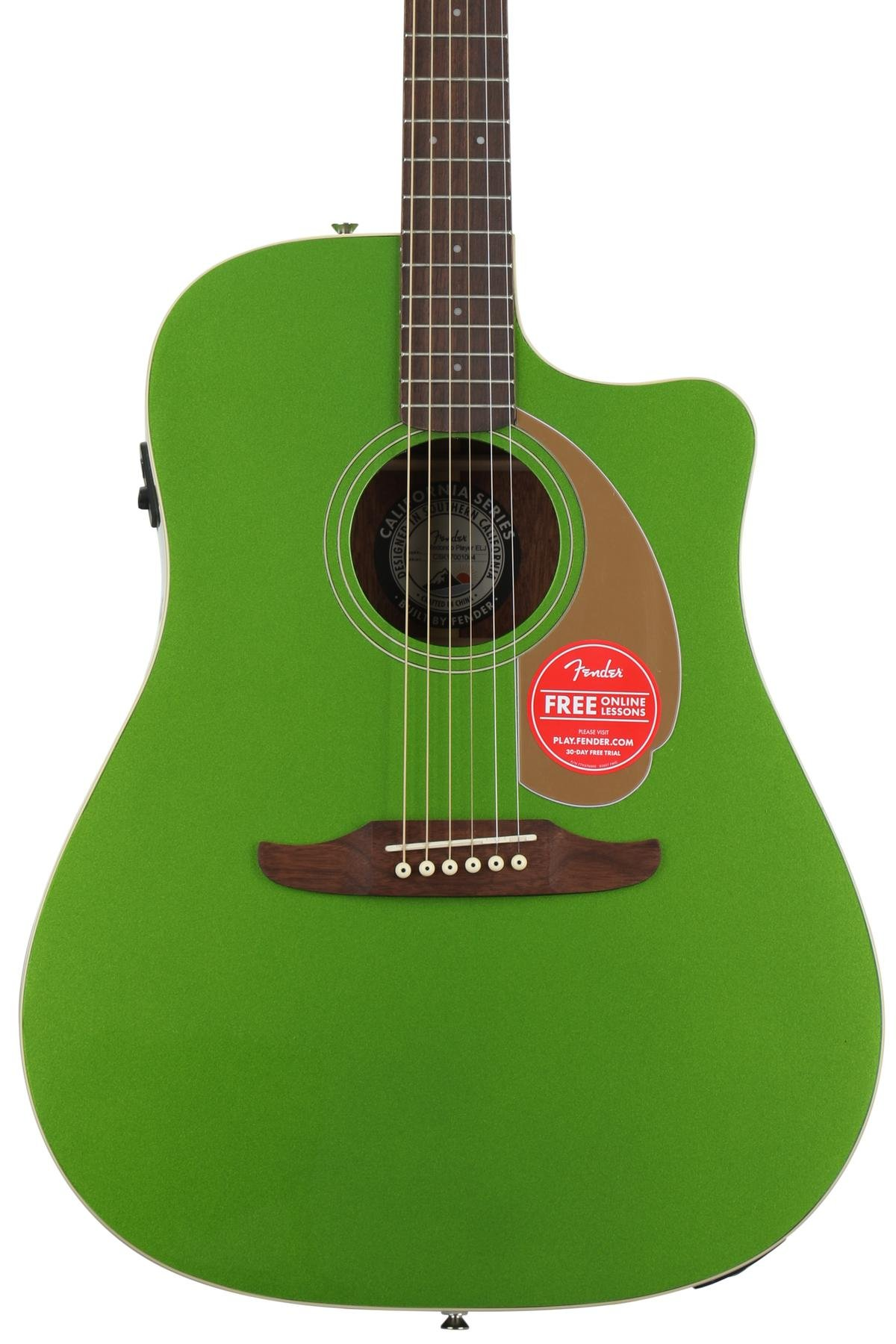 Fender Redondo Player Electric Jade Sweetwater