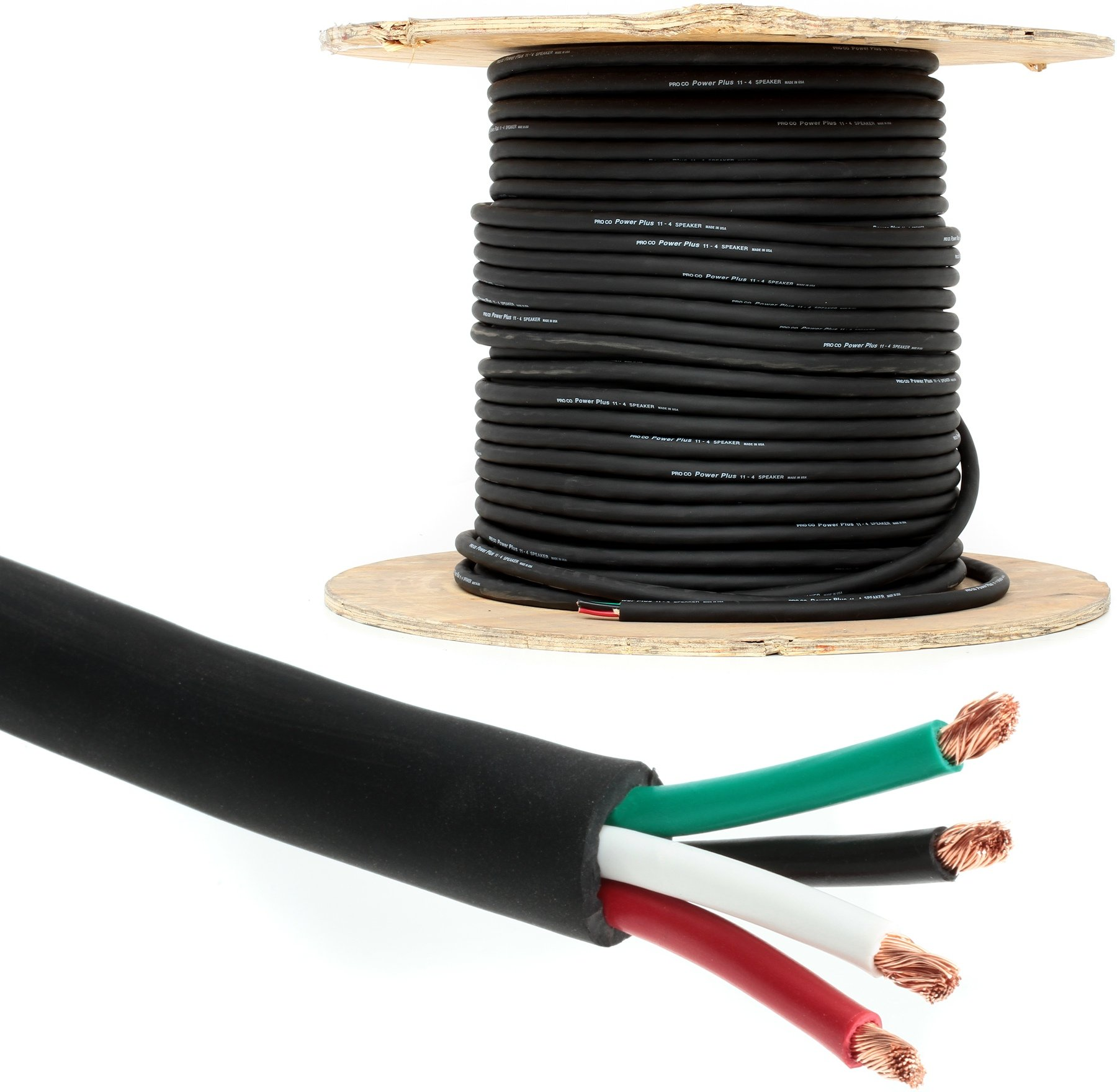 pro co 114 bulk speaker cable stage image 1