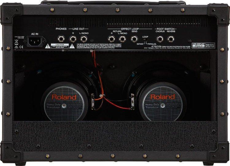 Roland JC 22 Jazz Chorus Guitar Combo Amp Features