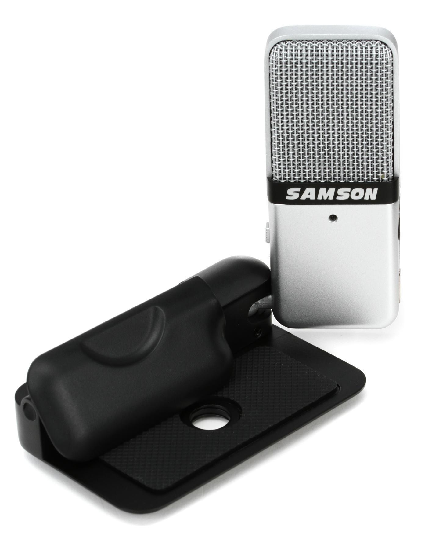Samson Go Mic Portable USB Condenser Microphone | Sweetwater