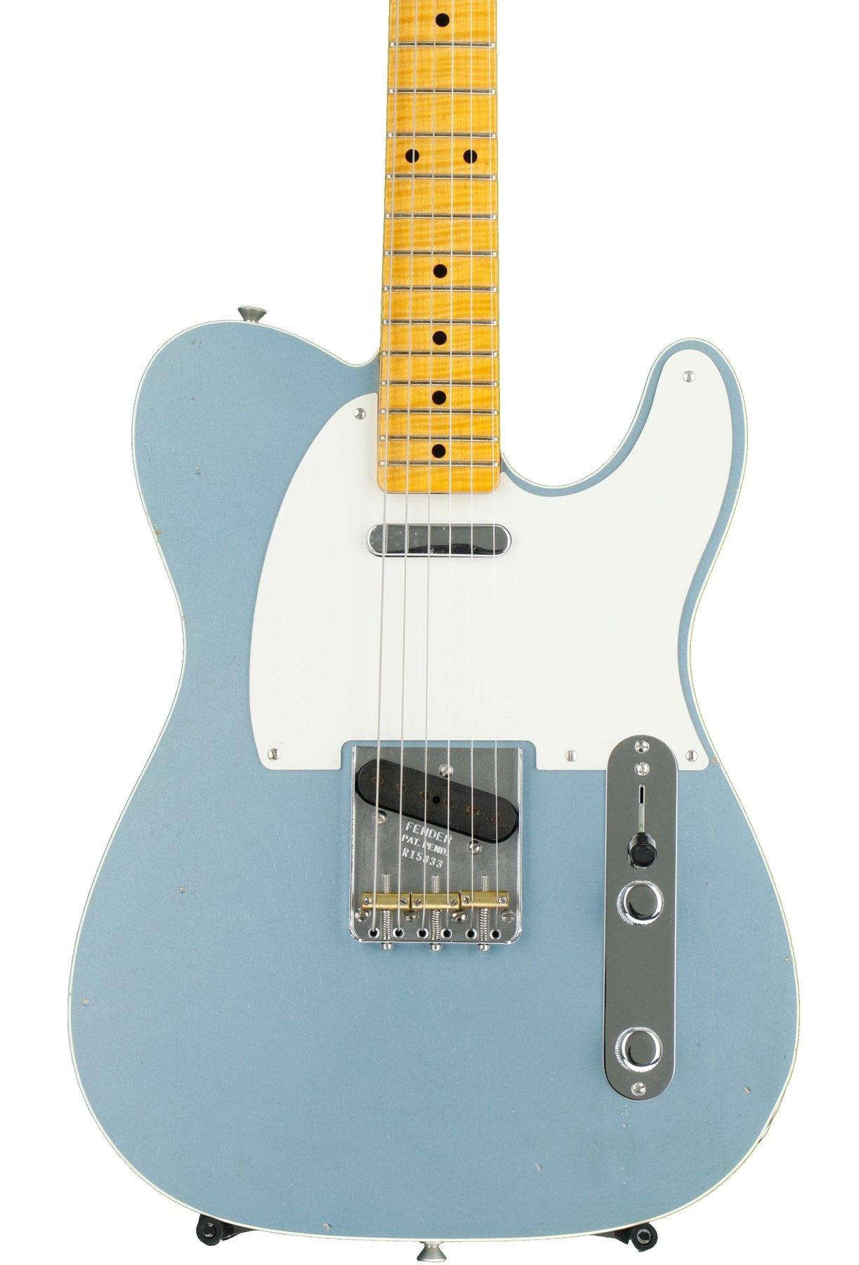Fender Custom Shop Limited \'50s Journeyman Relic Telecaster - Ice ...