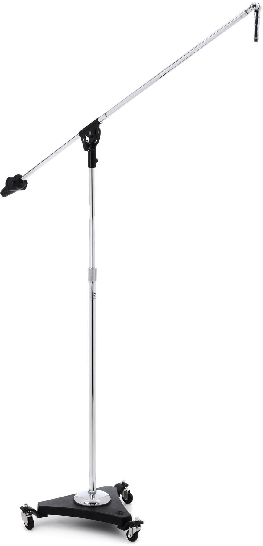 Very /'Retro/' look Professional CHROME Upright Microphone Stand