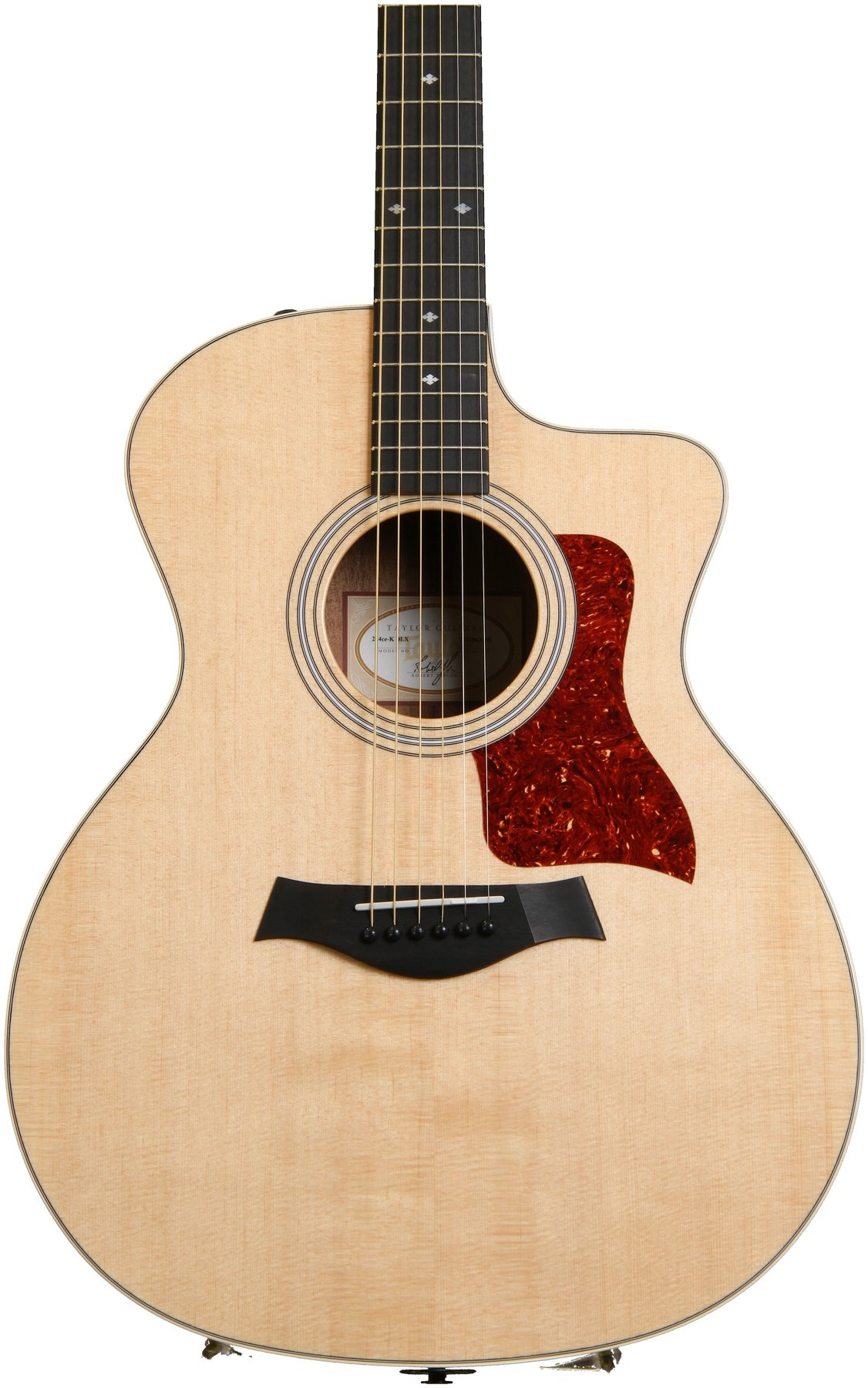 a5dd4b80c0 Taylor 214ce Deluxe - Natural w/ Layered Koa Back & Sides | Sweetwater