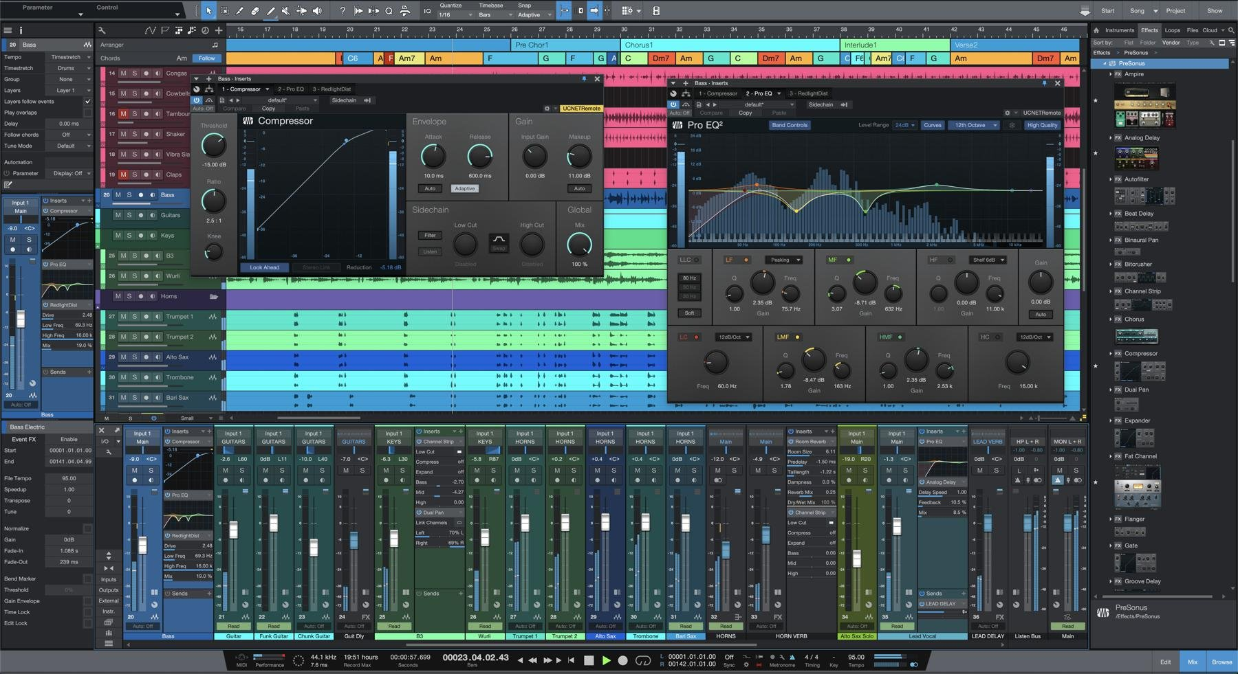PreSonus Studio One 5 Professional - Upgrade from Professional/Producer  (all versions)   Sweetwater