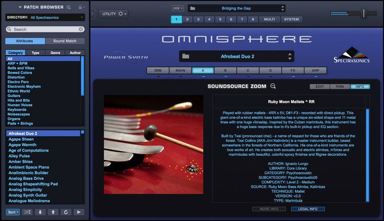 Spectrasonics Upgrade to Omnisphere 2 6 for Registered Users