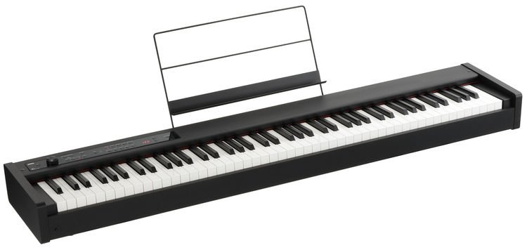 Korg D1 88-key Stage Piano / Controller (Black) | Sweetwater